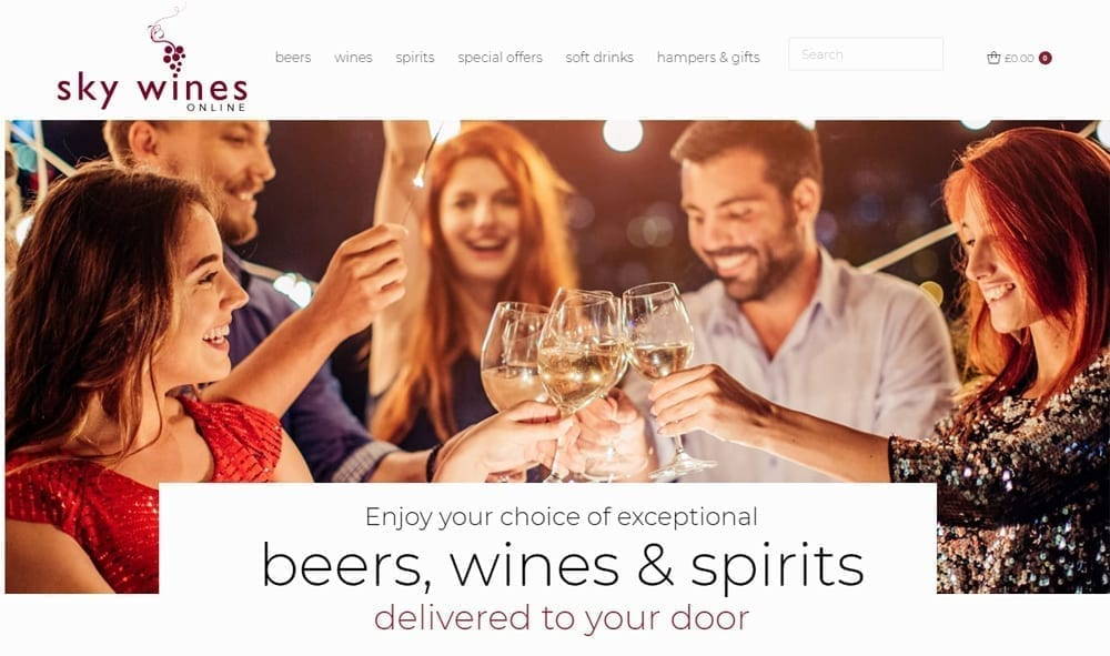 Latest Wine delivery Rugby site launched