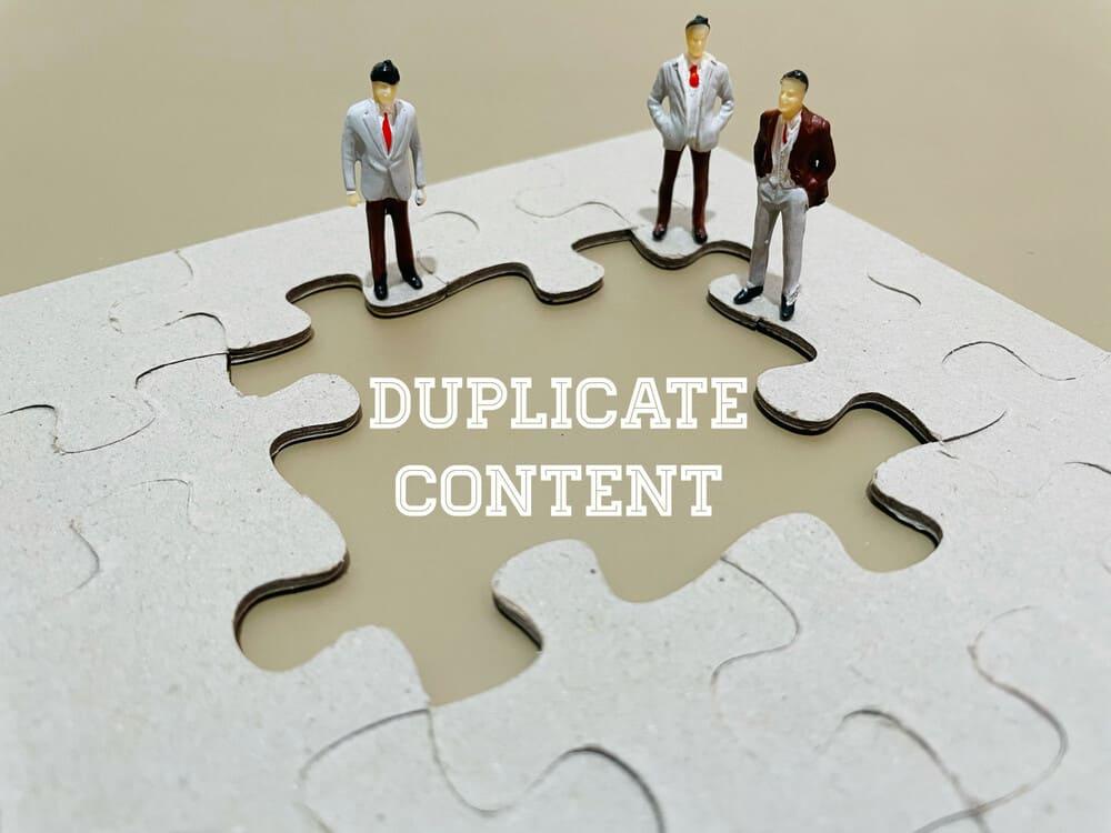Identify duplicate content