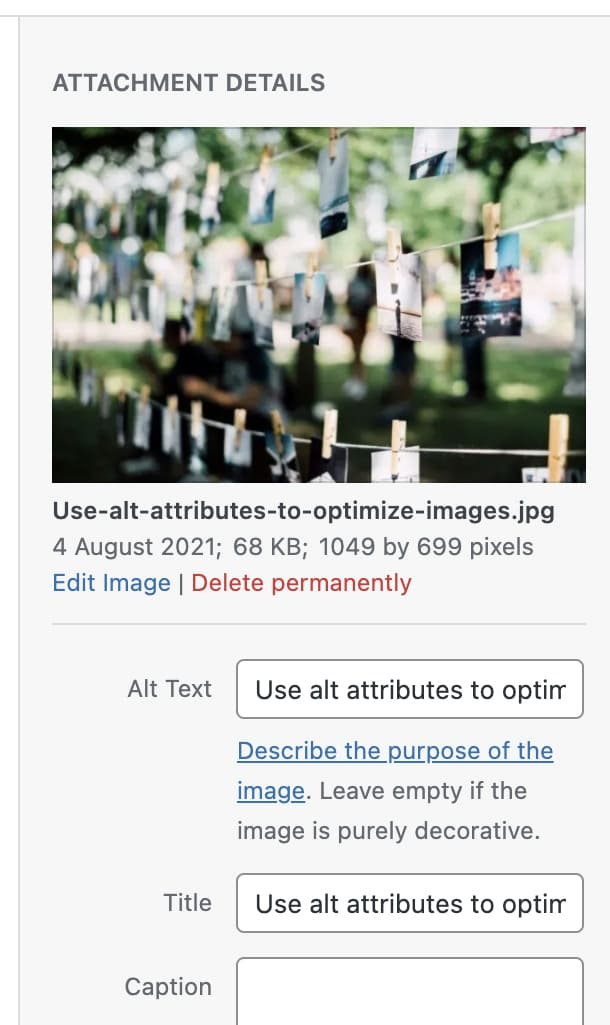 Day 21 Use alt attributes to optimize images